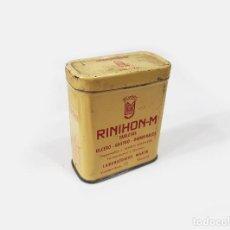 Cajas y cajitas metálicas: CAJA DE LATA DE RINIHON-M. Lote 277432823