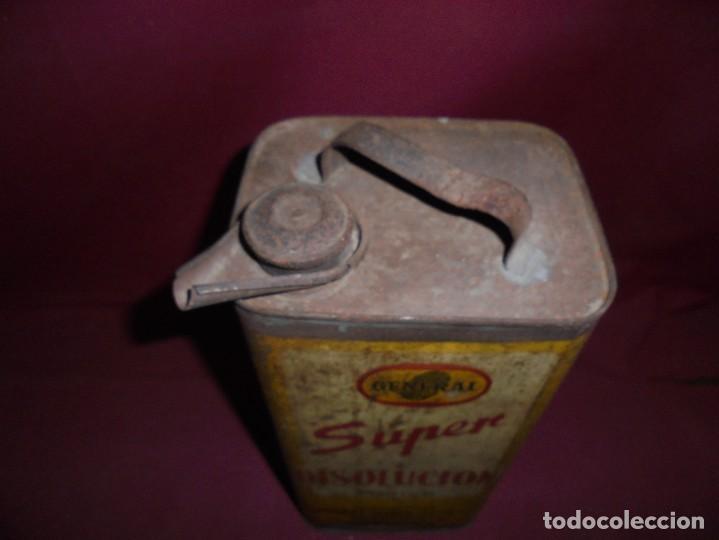 Cajas y cajitas metálicas: magnifica antigua lata litografiada super disolucion,general fabrica española torrelavega - Foto 2 - 277660398