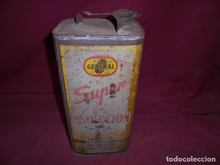 Cajas y cajitas metálicas: magnifica antigua lata litografiada super disolucion,general fabrica española torrelavega - Foto 6 - 277660398