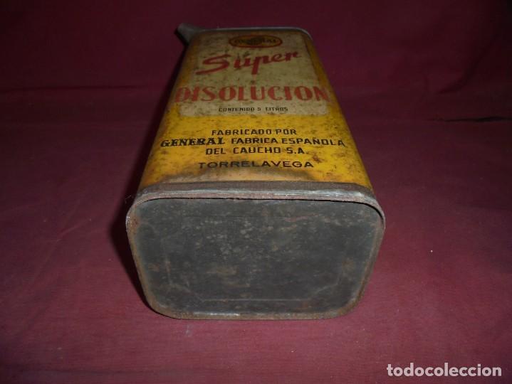 Cajas y cajitas metálicas: magnifica antigua lata litografiada super disolucion,general fabrica española torrelavega - Foto 8 - 277660398
