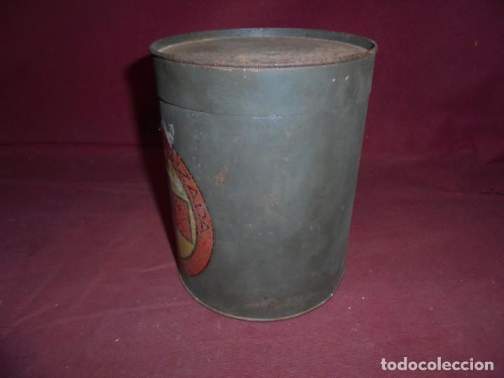 Cajas y cajitas metálicas: magnifica antigua lata litografiada A.LORAN,GASA ESTERILIZADA - Foto 3 - 277660643
