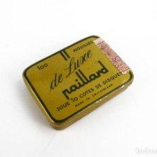 Cajas y cajitas metálicas: PAILLARD- AGUJAS DE GRAMÓFONO - METAL LITOGRAFIADO- CAJA PRECINTADA-SIN USO. Lote 278383838