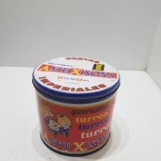 Casse e cassette metalliche: GRAN LATA METALICA ANTIU XIXONA. Lote 287230023