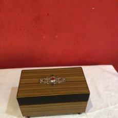 Boîtes et petites boîtes métalliques: ANTIGUA CAJA Y JOYERO MUSICAL JAPONESA CON BONITOS DETALLES . FUNCIONA. Lote 287993688