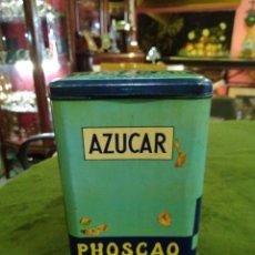 Cajas y cajitas metálicas: LATA ANTIGUA DE PHOSCAO. Lote 288001038