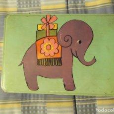 Cajas y cajitas metálicas: CAJA COLACAO INFANTIL. Lote 290119488