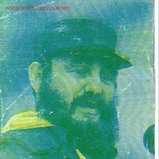 Coleccionismo Calendarios: CALENDARIO DE BOLSILLO DE FIDEL CASTRO.. Lote 902510