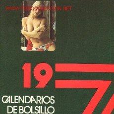 Coleccionismo Calendarios: CATALOGO DE CALENDARIOS DE BOLSILLO GRUART. 1977. 66 CALENDARIOS.. Lote 518115