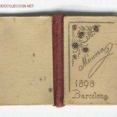 Coleccionismo Calendarios: UN CALENDARIO QUE TODO GRAN COLECCIONISTA ESPERA CONSEGUIR DEL AÑO 1898. Lote 2022126