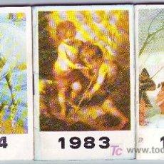 Coleccionismo Calendarios: 3 CALENDARIOS. Lote 3178900