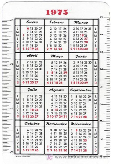 Coleccionismo Calendarios: Calendario Fournier. Caja Postal de Ahorros. Año 1975. (HF3) - Foto 2 - 26886850