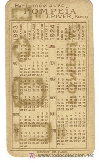 Calendario Frances.Calendario Frances Ano 1923 24 Sold Through Direct
