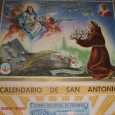 Coleccionismo Calendarios: CALENDARIO SAN ANTONIO. Lote 20904006