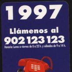 Coleccionismo Calendarios: CALENDARIO - LINEA DIRECTA ASEGURADORA 1997. Lote 3903215