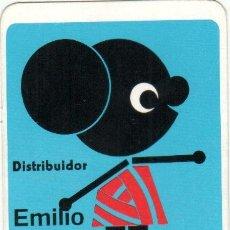 Coleccionismo Calendarios: 1972 LANAS TORREDEMER, EMILIO AGUIRRE, DAIMIEL (CIUDAD REAL). CALENDARIO BOLSILLO. Lote 27357438