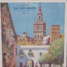 Coleccionismo Calendarios: CALENDARIO DE PARED CON PUBLICIDAD. Lote 12941976
