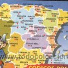 Coleccionismo Calendarios: CALENDARIO - CÓDIGOS POSTALES 2004. Lote 4641876
