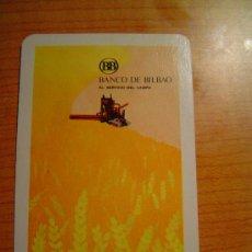 Coleccionismo Calendarios: CALENDARIO FOURNIER BANCO DE BILBAO AÑO 1972. Lote 5939874