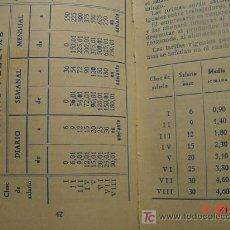 Coleccionismo Calendarios: 592 AGENDA CALENDARIO SANTORAL BANCO DE BILBAO AÑO 1947 - COSAS&CURIOSAS. Lote 5411480