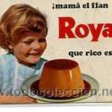 Coleccionismo Calendarios: CALENDARIO DE BOLSILLO AÑO 1970, MAMA EL FLAN ROYAL QUE RICO ESTA. Lote 5452951