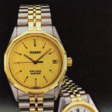 Coleccionismo Calendarios: CALENDARIO RELOJ TISSOT, AÑO 1984. Lote 26073065
