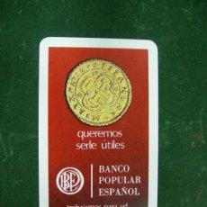 Coleccionismo Calendarios: CALENDARIO FOURNIER BANCO POPULAR ESPAÑOL1969. Lote 24189847
