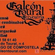 Coleccionismo Calendarios: CALENDARIO CERVECERIA GALEÓN. Lote 6049422