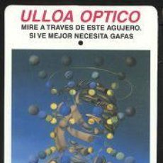 Coleccionismo Calendarios: CALENDARIO - ULLOA ÓPTICO 2000. Lote 6071658