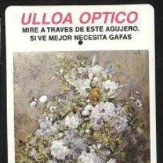 Coleccionismo Calendarios: CALENDARIO - ULLOA ÓPTICO 1999. Lote 6071662
