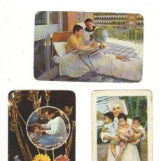 Coleccionismo Calendarios: TRES CALENDARIOS -UNO H. FOURNIER 1967-DOS ,SANATORIO MARITIMO DE GIJON 1969 Y 1971 . Lote 25919109