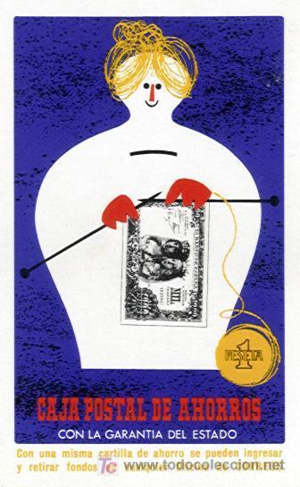 CALENDARIO FOURNIER DE LA CAJA POSTAL DE AHORROS. AÑO 1970. (Coleccionismo - Calendarios)