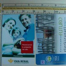 Coleccionismo Calendarios: 2 CALENDARIOS FOURNIER. AÑO 2007. CAJA RURAL Y CAJA VITAL KUTXA. PERFECTOS. . Lote 6890961