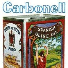 Coleccionismo Calendarios: CALENDARIO FOURNIER DE ACEITE CARBONELL. AÑO 1965.. Lote 26491865