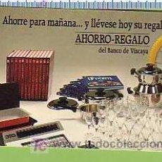 Coleccionismo Calendarios: BANCO BILBAO VIZCAYA 1984. Lote 12068936