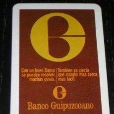 Coleccionismo Calendarios: 1974 - CALENDARIO H. FOURNIER - BANCO GUIPUZCOANO. Lote 21964548