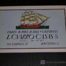 Coleccionismo Calendarios: 1963 - CALENDARIO H. FOURNIER - L GUARRO CASAS. Lote 26779672