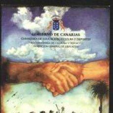 Coleccionismo Calendarios: CALENDARIO GOBIERNO DE CANARIAS 1998. Lote 7362650