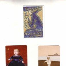 Coleccionismo Calendarios: -14562 3 CALENDARIOS PINTURAS, MALAGUEÑOS, AÑOS 2007 Y 2008 , EDICION PARTICULAR. Lote 13215403