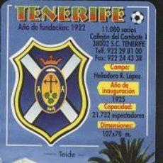 Coleccionismo Calendarios: CALENDARIO FÚTBOL - TENERIFE 2001. Lote 7769151