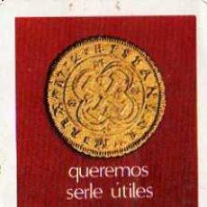 Coleccionismo Calendarios: CALENDARIO H. FOURNIER, BANCO POPULAR ESPAÑOL, 1969. Lote 7928688