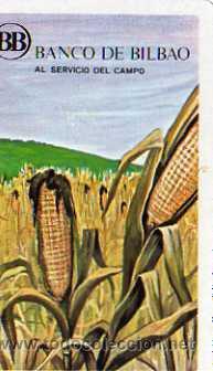 CALENDARIO H. FOURNIER, BANCO DE BILBAO, 1971 (Coleccionismo - Calendarios)