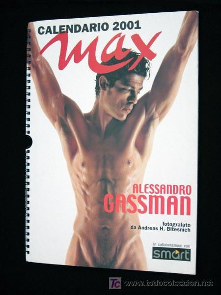 Calendario Gassman.Alessandro Gassman Fotografiado Por Andreas H Sold