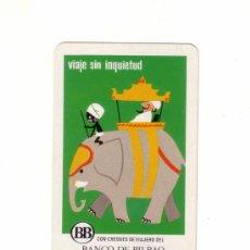 Coleccionismo Calendarios: -30504 CALENDARIO BANCO DE BILBAO, HERACLIO FOURNIER, AÑO 1971, CHEQUES DE VIAJERO, IMPECABLE. Lote 8661850