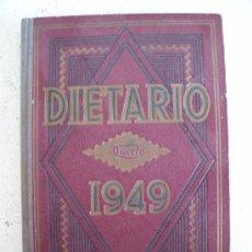 Coleccionismo Calendarios: BONITO DIETARIO DEL AÑO 1949 DE LA CASA QUERFO MOSELO Nº 61. Lote 20599995