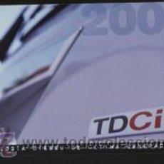 Coleccionismo Calendarios: CALENDARIO PUBLICITARIO TEMA BANCOS/COCHES - FORDCREDIT 2002. Lote 9218535