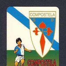 Coleccionismo Calendarios: CALENDARIO PARA 1997: COMPOSTELA, SANTIAGO. FUTBOL. Lote 9339554