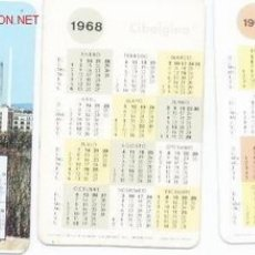 Coleccionismo Calendarios: 3 CALENDARIOS CIBALGINA.2 DE 1970,UNO DE 1969. Lote 5443767