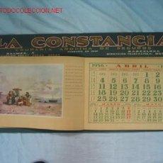 Coleccionismo Calendarios: CALENDARIO REPÚBLICA-GUERRA CIVIL. Lote 13723630