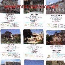 Coleccionismo Calendarios: 11-LOTE17. LOTE DE 33 CALENDARIOS DE CASAS RURALES. Lote 8190979