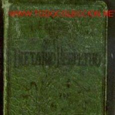 Coleccionismo Calendarios: DIETARIO PERPETUO DE BOLSILLO (BARCELONA, HACIA 1895) AGENDA UTILIZABLE PERPETUAMENTE. Lote 25747976